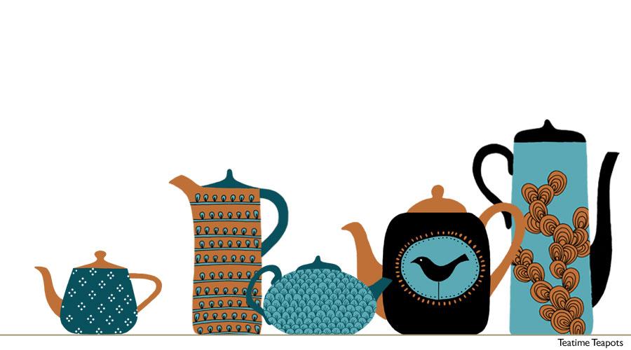 row-teapots