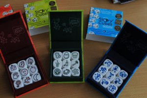 Rory's Story Cubes  – Story Telling Dice Game